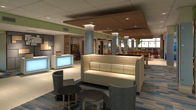 Holiday Inn Express Kingston West-Hotel Lobby<br/>Image from Leonardo