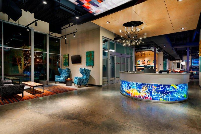 Aloft Columbia Downtown-Lobby<br/>Image from Leonardo