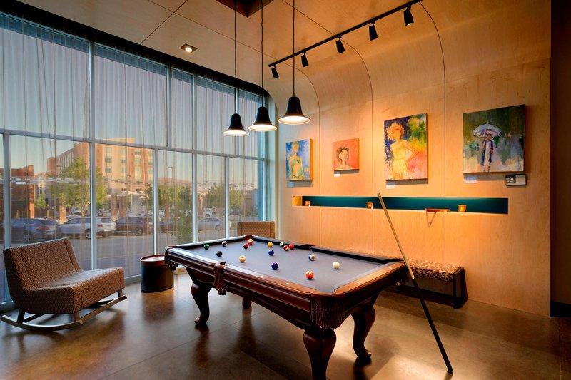 Aloft Columbia Downtown-Remix Billiards<br/>Image from Leonardo