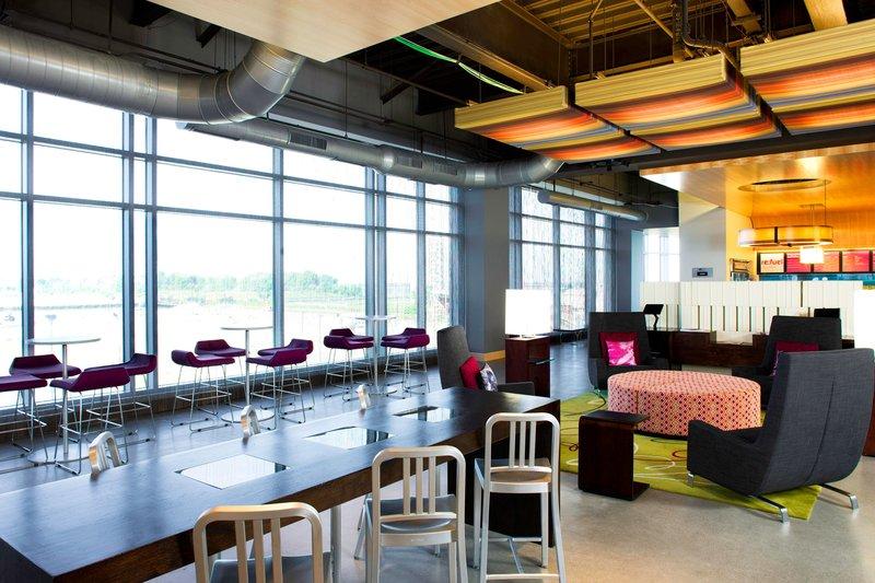 Aloft Cleveland Downtown-Lobby<br/>Image from Leonardo