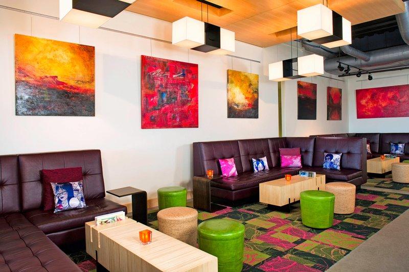 Aloft Cleveland Downtown-Remix Lounge<br/>Image from Leonardo