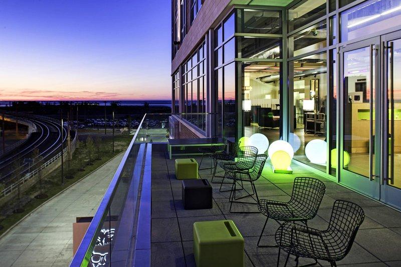 Aloft Cleveland Downtown-Patio<br/>Image from Leonardo