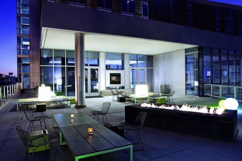 Aloft Cleveland Downtown-Backyard<br/>Image from Leonardo