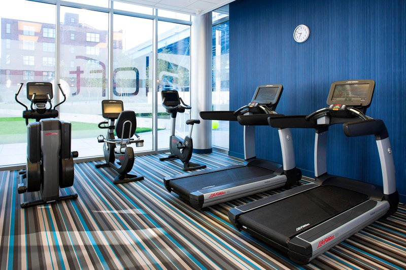 Aloft Cleveland Downtown-Re:charge gym<br/>Image from Leonardo