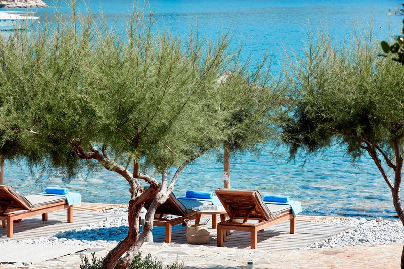Blue Palace; a Luxury Collection Hotel-Private Beach<br/>Image from Leonardo