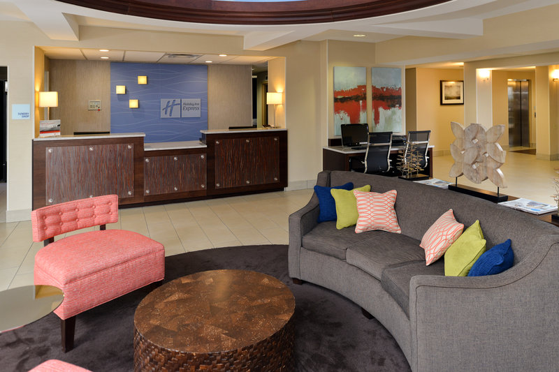 Holiday Inn Express & Suites Tampa/Rocky Point Island-Front Desk<br/>Image from Leonardo