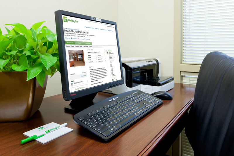 Holiday Inn Syracuse - Liverpool - Exit 37-Business Center<br/>Image from Leonardo