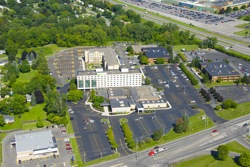 Holiday Inn Syracuse - Liverpool - Exit 37-A birdseye view of our property, including our convention space.<br/>Image from Leonardo