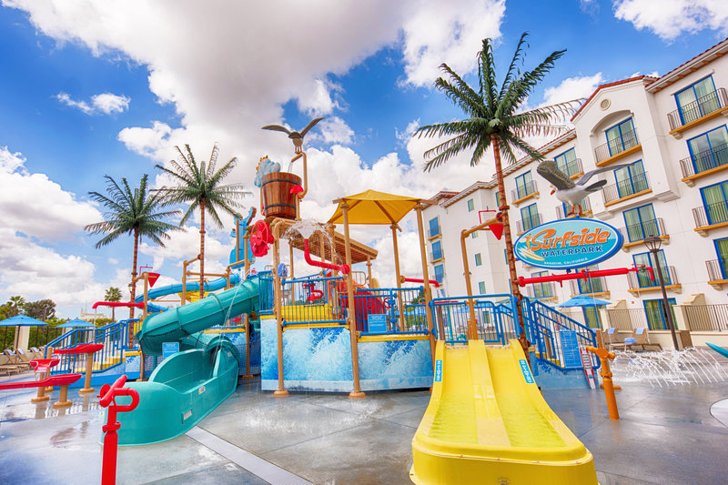 Courtyard Anaheim Theme Park Entrance-Surfside Waterpark<br/>Image from Leonardo