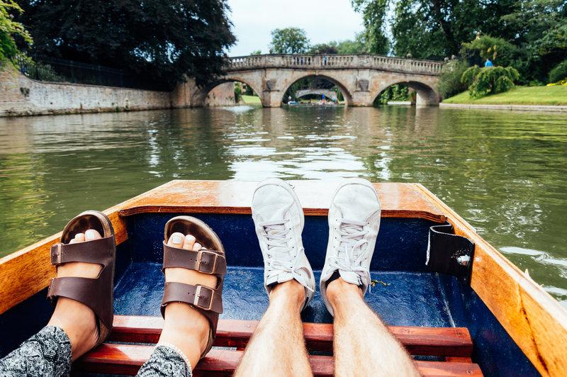 Holiday Inn Cambridge-Cambridge punting<br/>Image from Leonardo