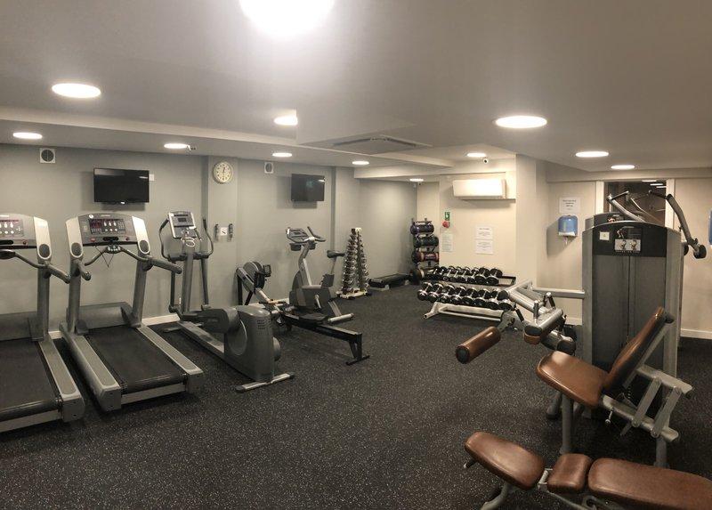 Holiday Inn Oxford-Gym<br/>Image from Leonardo