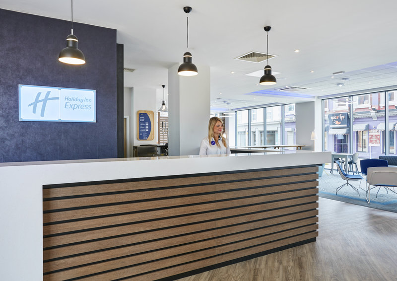 Holiday Inn Express Grimsby-Front Desk<br/>Image from Leonardo