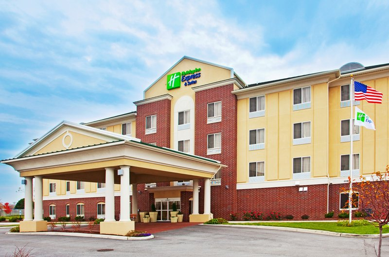 Holiday Inn Express Hotel & Suites Chicago South Lansing-Holiday Inn Express & Suites Chicago South Lansing Hotel Exterior<br/>Image from Leonardo
