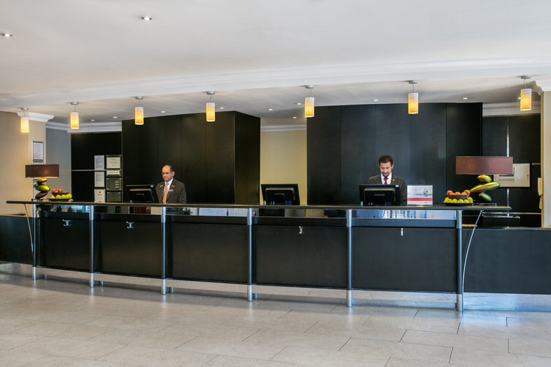 Crowne Plaza Manchester Airport-Front Desk<br/>Image from Leonardo