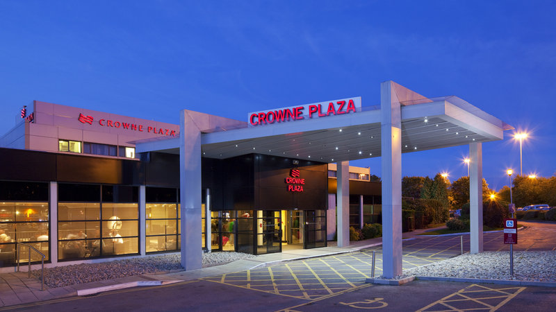 Crowne Plaza Manchester Airport-Hotel Exterior<br/>Image from Leonardo