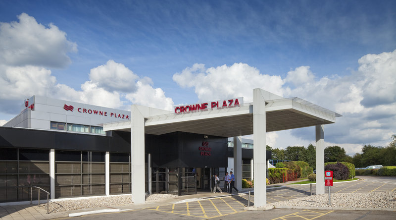 Crowne Plaza Manchester Airport-Exterior Feature<br/>Image from Leonardo