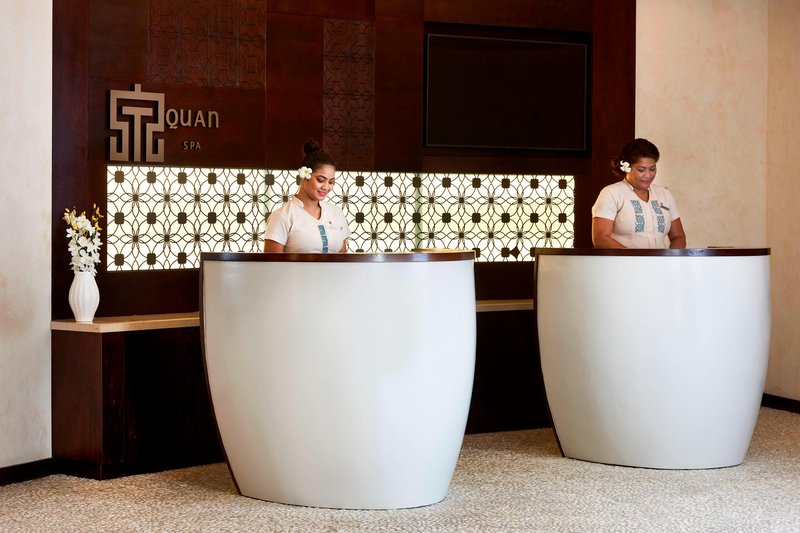 Fiji Marriott Resort Momi Bay-Quan Spa - Reception<br/>Image from Leonardo