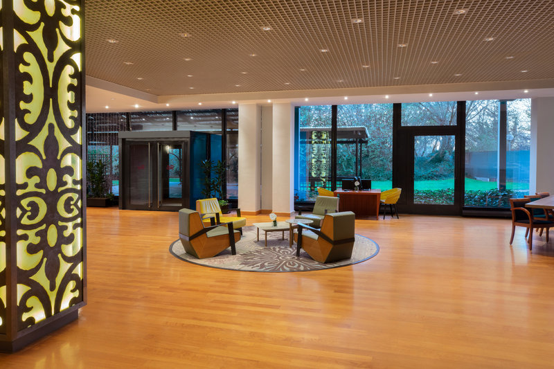 Crowne Plaza Milan - Linate-Guest Patio<br/>Image from Leonardo