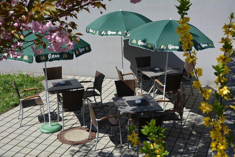 Holiday Inn Salzburg City-Enjoy the sun in our beergarden.<br/>Image from Leonardo