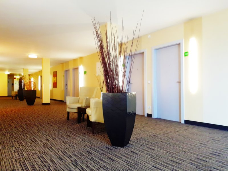 Holiday Inn Salzburg City-The floor of our guestrooms.<br/>Image from Leonardo