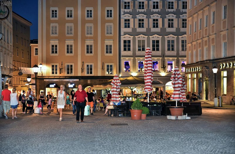 Holiday Inn Salzburg City-Nightlife in Salzburg - just amazing.<br/>Image from Leonardo