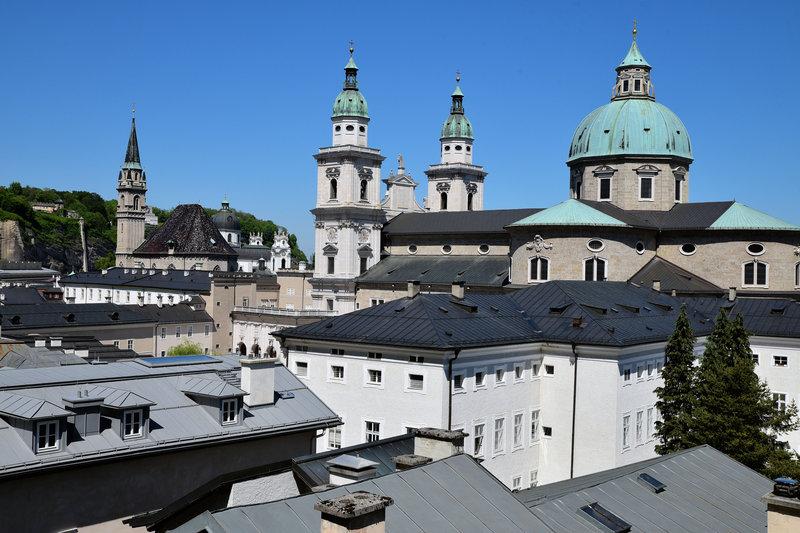 Holiday Inn Salzburg City-Salzburg Cathredal in baroque style.<br/>Image from Leonardo