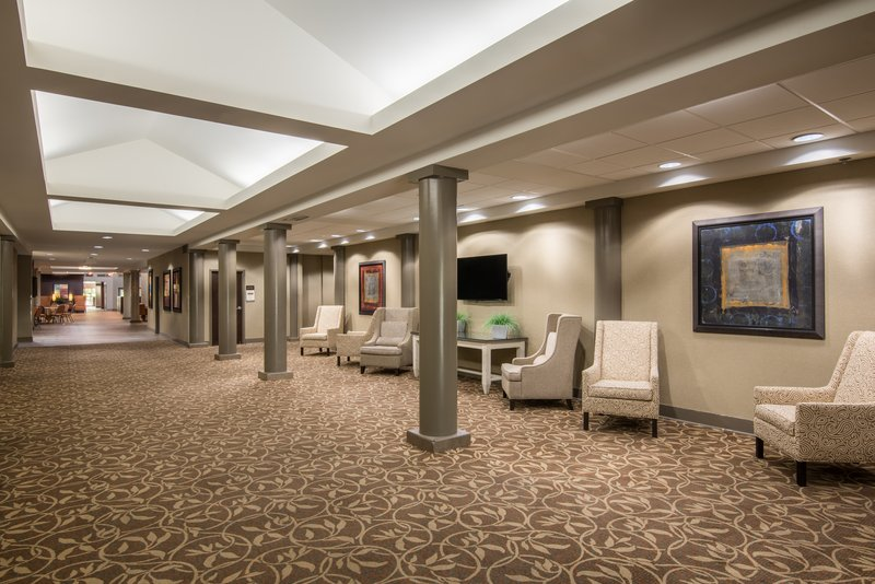 Crowne Plaza Little Rock-Pre-function Area<br/>Image from Leonardo