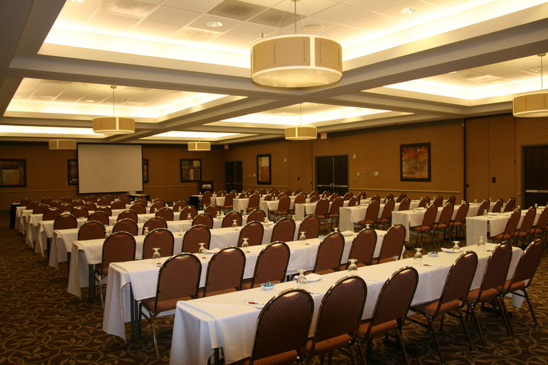 Crowne Plaza Little Rock-Ballroom Classroom Style<br/>Image from Leonardo