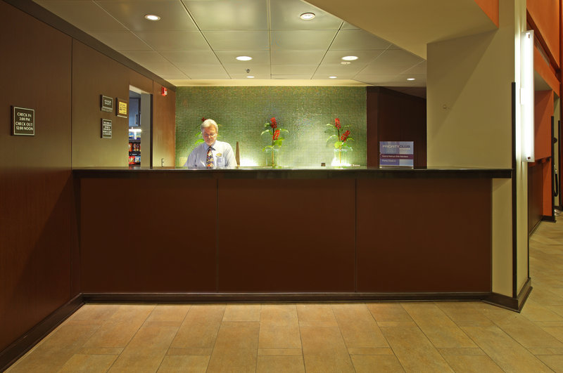 Crowne Plaza Little Rock-Crowne Plaza Little Rock our friendly front desk <br/>Image from Leonardo