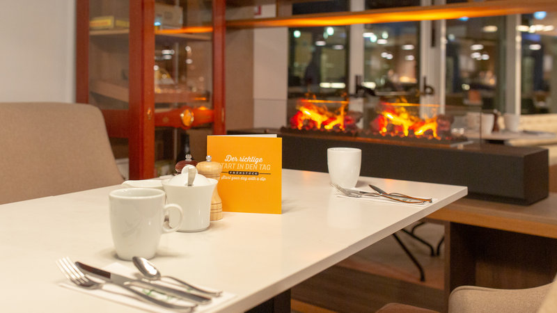 Berlin Airport Conference Centre-Guest Dining Lounge<br/>Image from Leonardo
