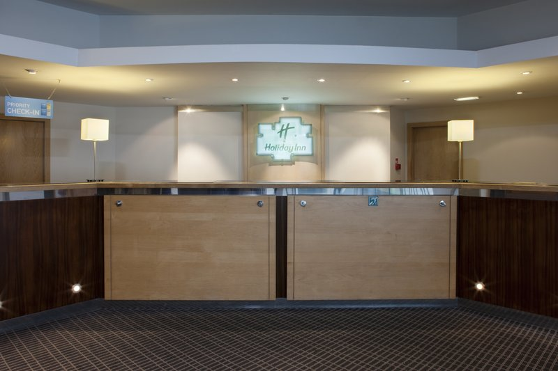 Holiday Inn Cardiff City Centre-Reception: a warm Welsh Welcome awaits, Croeso<br/>Image from Leonardo