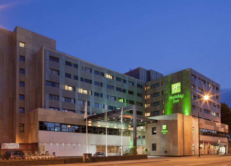 Holiday Inn Cardiff City Centre-Hotel Exterior Hotel at night<br/>Image from Leonardo