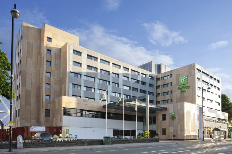 Holiday Inn Cardiff City Centre-Hotel Exterior front of hotel<br/>Image from Leonardo