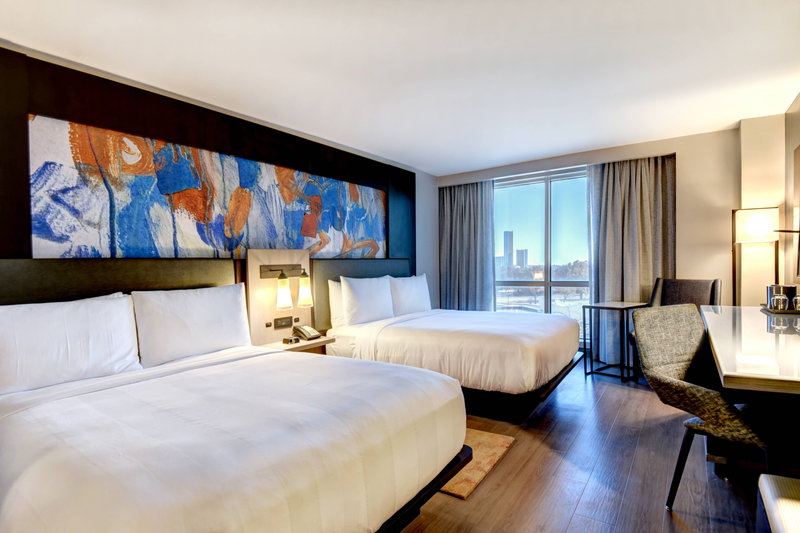 Crowne Plaza Tulsa - Southern Hills-Double/Double Guest Room<br/>Image from Leonardo