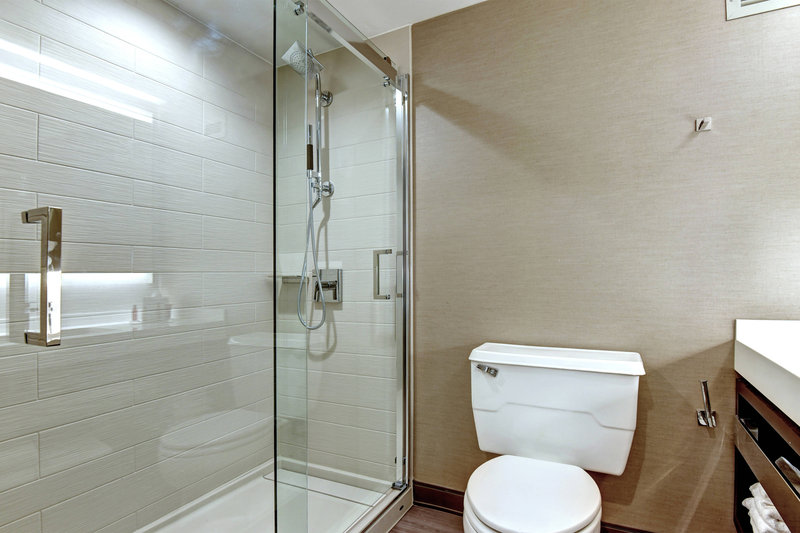 Crowne Plaza Tulsa - Southern Hills-Guest Bathroom - Walk-in Shower<br/>Image from Leonardo
