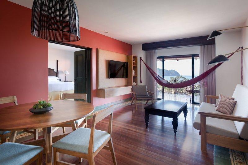 Marriott Los Suenos Ocean & Golf Resort-Ocean Front Suite - Living Room<br/>Image from Leonardo