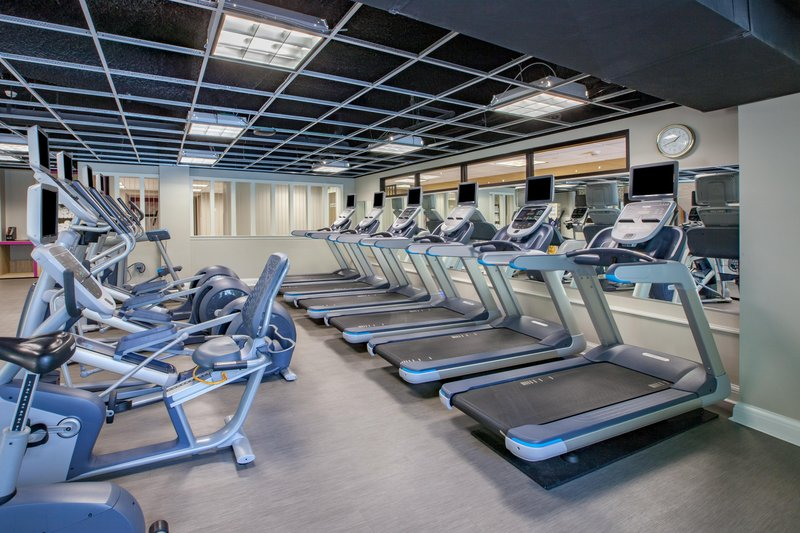 Crowne Plaza Louisville Airport Expo Center-Fitness Center, open 24 hours a day. <br/>Image from Leonardo