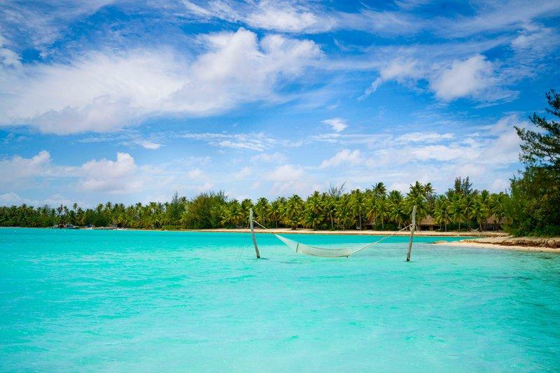 St Regis Resort Bora Bora - Main Beach <br/>Image from Leonardo