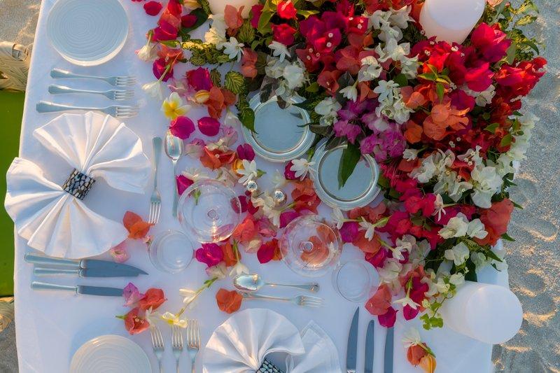 St Regis Resort Bora Bora - Dinner on the Beach <br/>Image from Leonardo