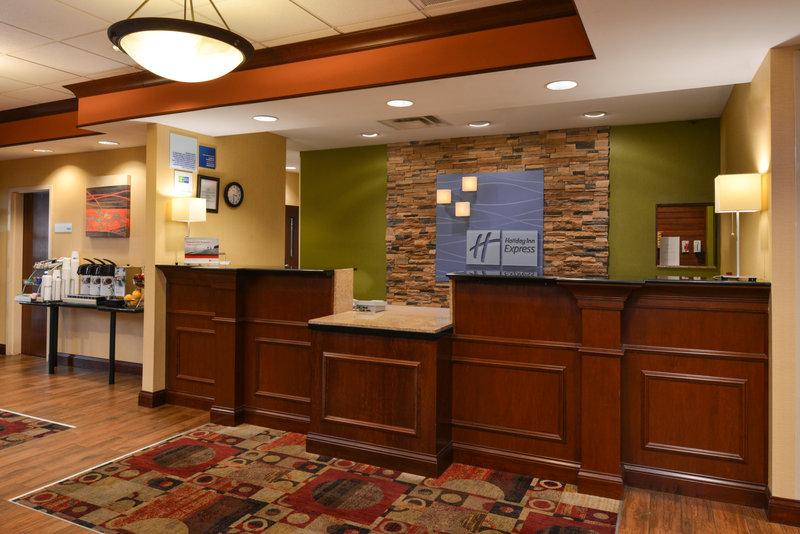 Holiday Inn Express & Suites Dayton - Centerville-Front Desk<br/>Image from Leonardo