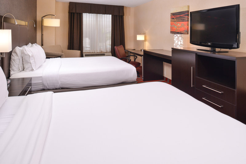 Holiday Inn Express & Suites Dayton - Centerville-Double Bed Guest Room<br/>Image from Leonardo