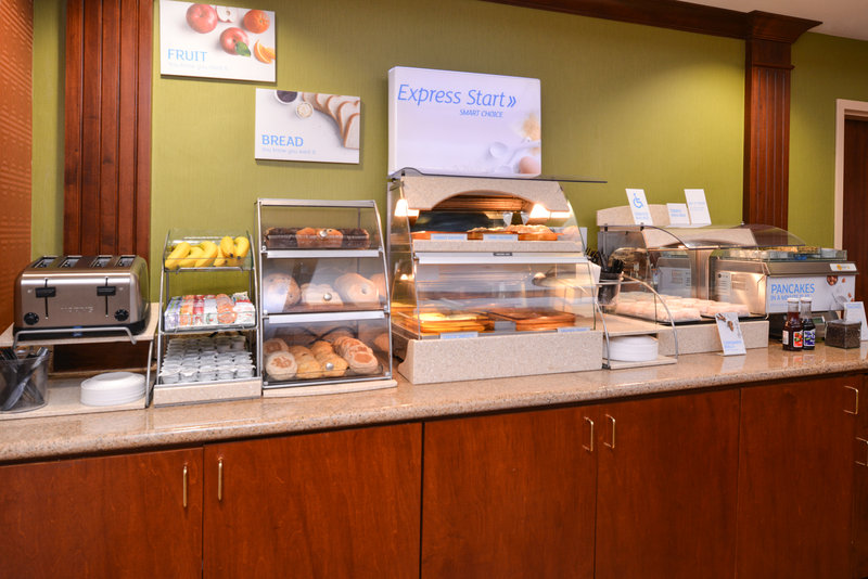 Holiday Inn Express & Suites Dayton - Centerville-Breakfast Bar<br/>Image from Leonardo