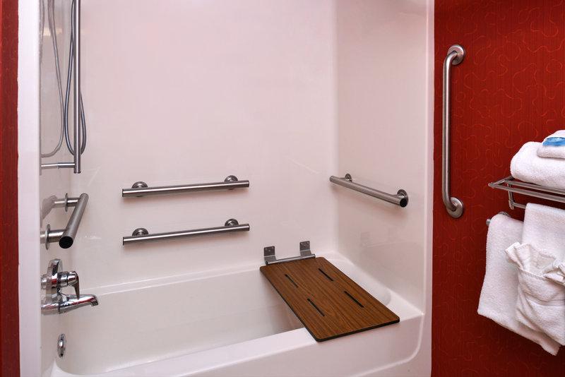 Holiday Inn Express & Suites Dayton - Centerville-Guest Bathroom<br/>Image from Leonardo