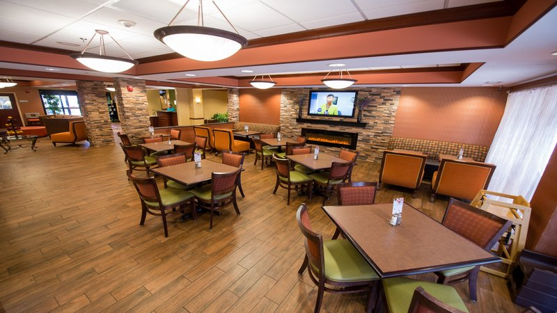 Holiday Inn Express & Suites Dayton - Centerville-Breakfast Area<br/>Image from Leonardo