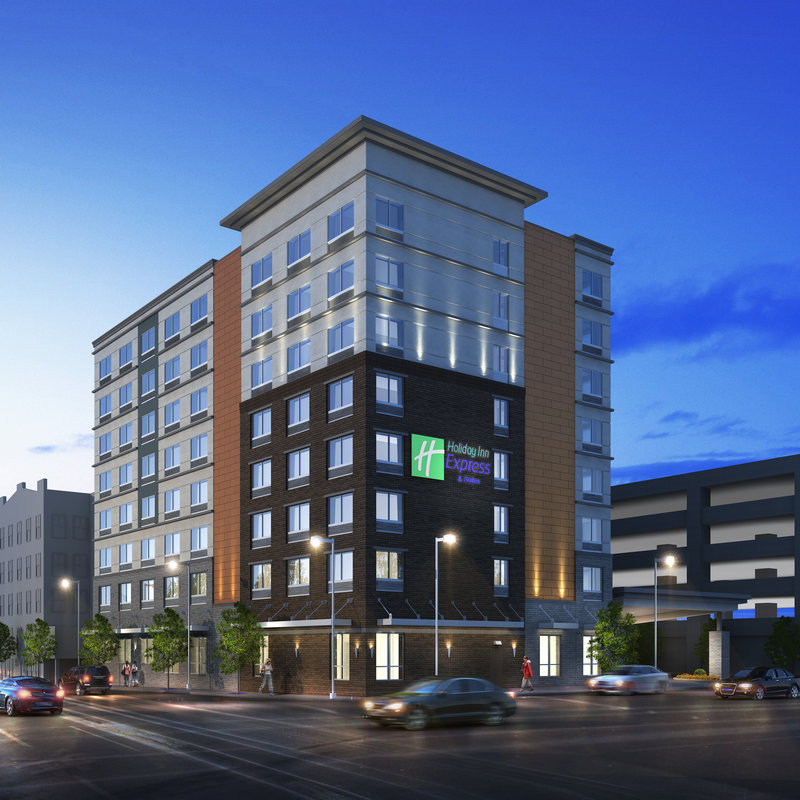 Holiday Inn Express & Suites Louisville Downtown-Hotel Exterior<br/>Image from Leonardo