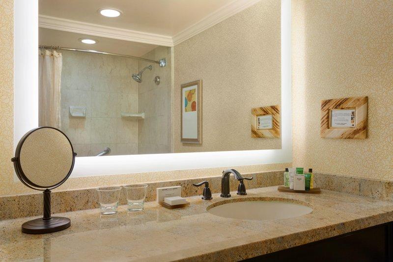 The Waterfront Beach Resort, A Hilton Hotel-Huntington Tower Bathroom<br/>Image from Leonardo
