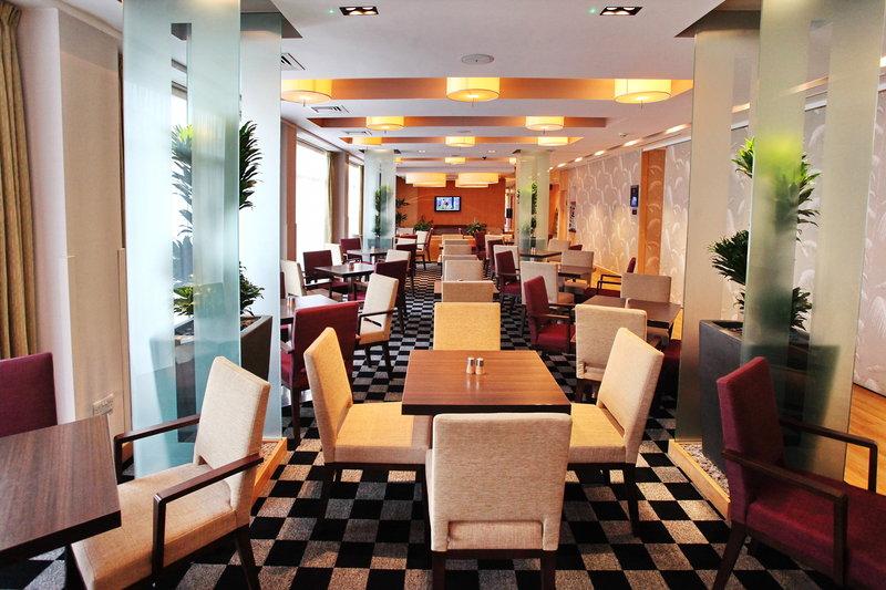 Holiday Inn Express Redditch-Great Room Restaurant serving Freshly Prepared Evening Meals<br/>Image from Leonardo