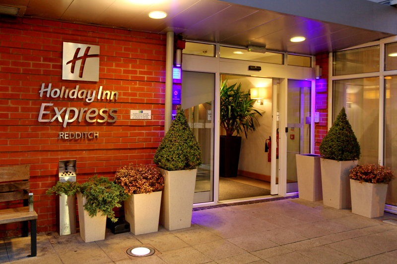Holiday Inn Express Redditch-Warm & Welcoming Entrance<br/>Image from Leonardo