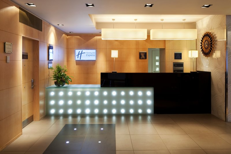 Holiday Inn Express Redditch-Modern and Welcoming Reception<br/>Image from Leonardo