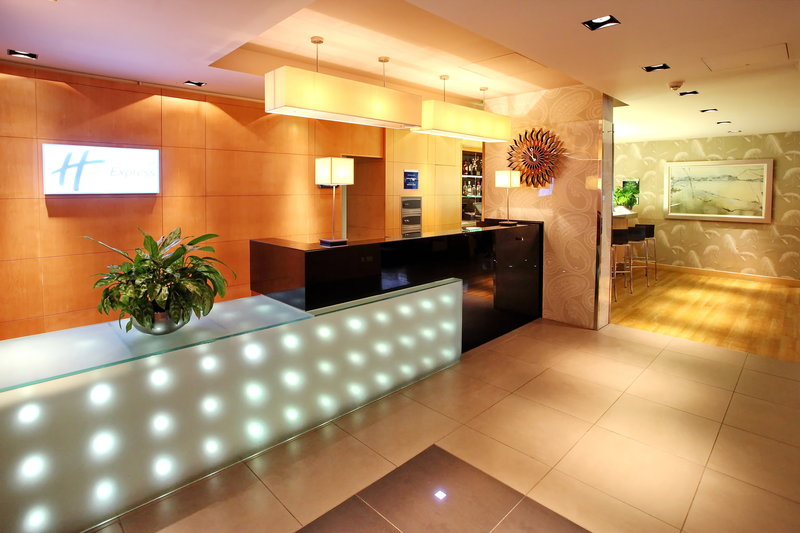 Holiday Inn Express Redditch-Reception<br/>Image from Leonardo